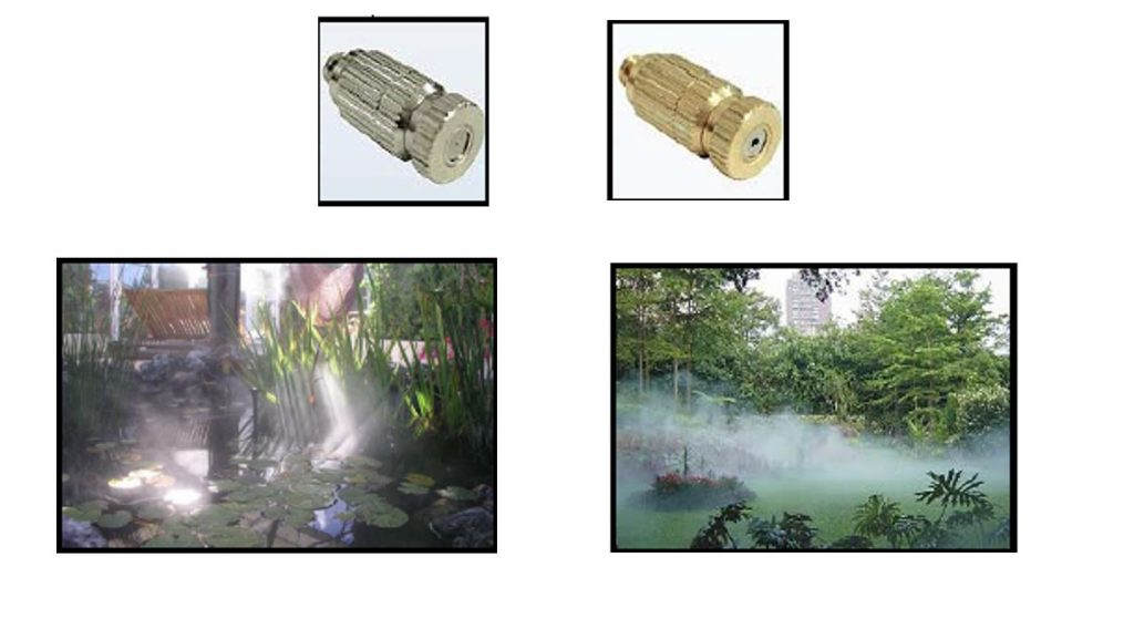 Water Misting Systems – Misting Fan